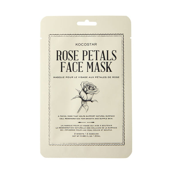 Rose Petal Therapy Mask