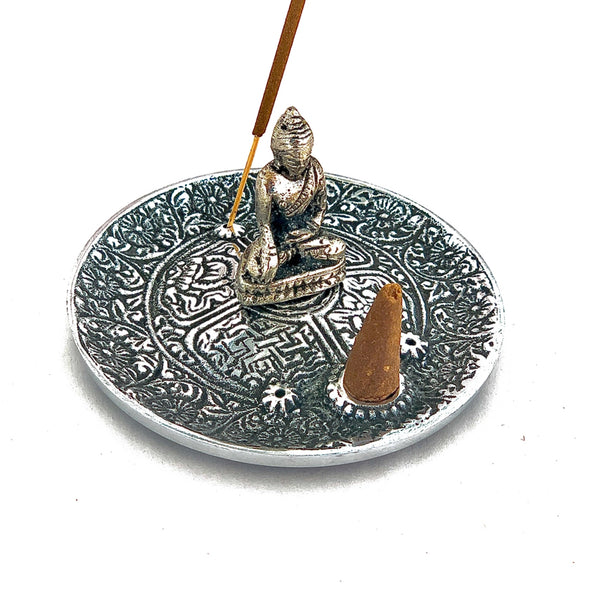 Buddha Metal Incense Burner