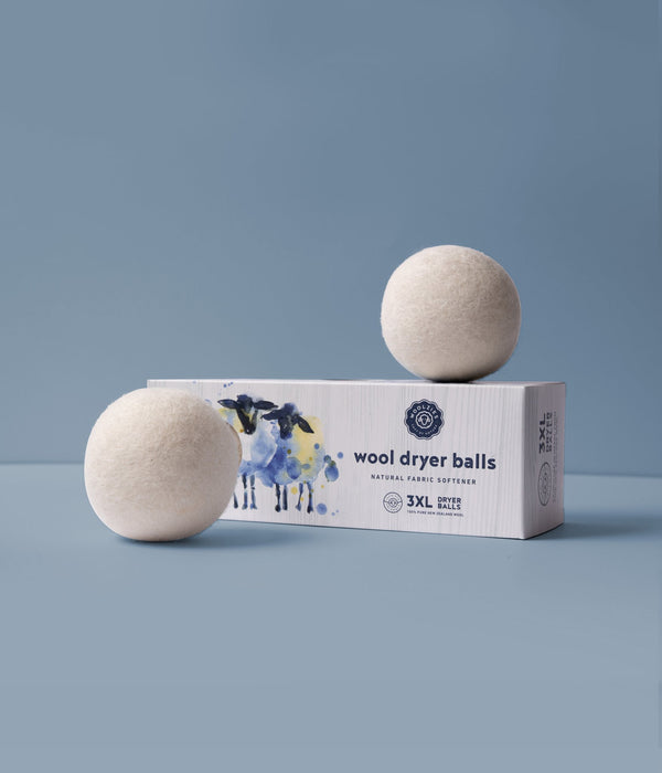 Wool Dryer Balls - White