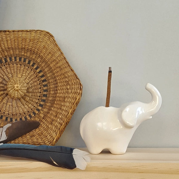 Anoush Elephant Incense Burner