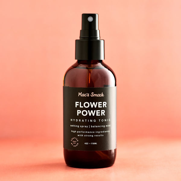 Mac's Smack Flower Power Hydrating Tonic