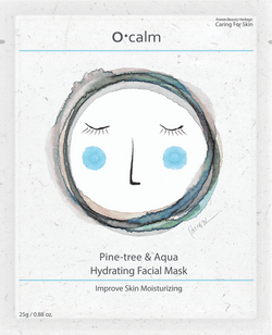 O•Calm Pine-tree & Aqua Face Mask