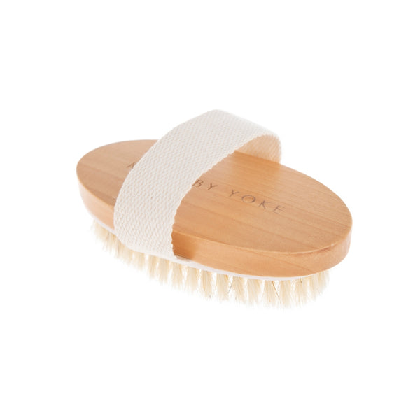 Yoke Hand Held Vegan Dry Brush