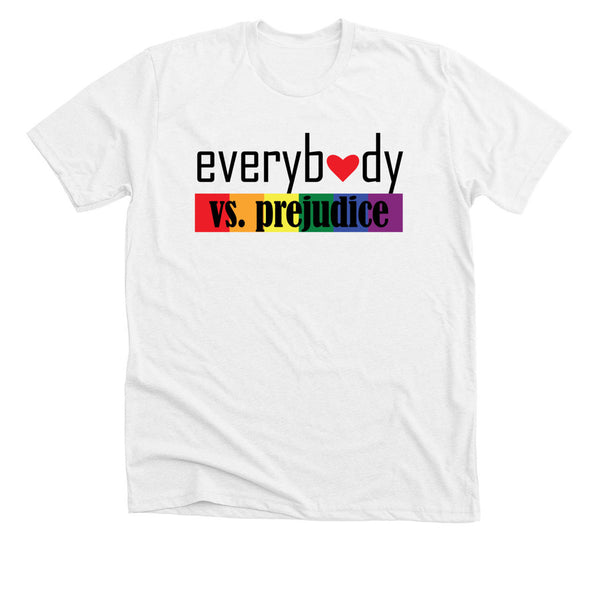 Everybody vs. Prejudice White T-shirt