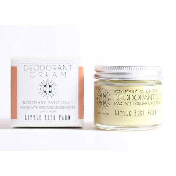 Little Seed Farm Rosemary Patchouli Deodorant Cream