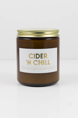 OKcollective Cider 'N Chill Holiday Candle