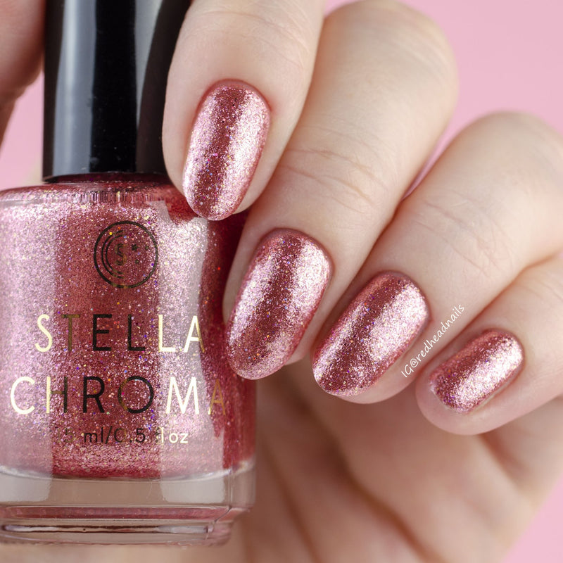 Stella Chroma Nail Polish Crown of Roses