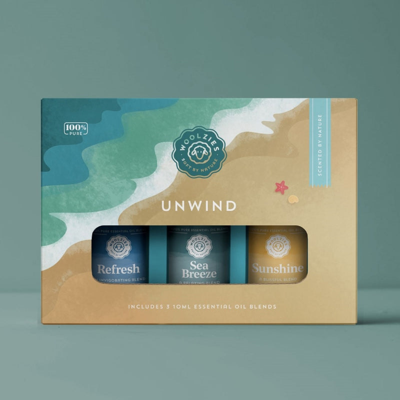 "Woolzies ""Unwind"" Oil Set"