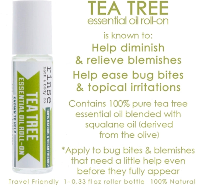Rinse Roll-on Tea Tree