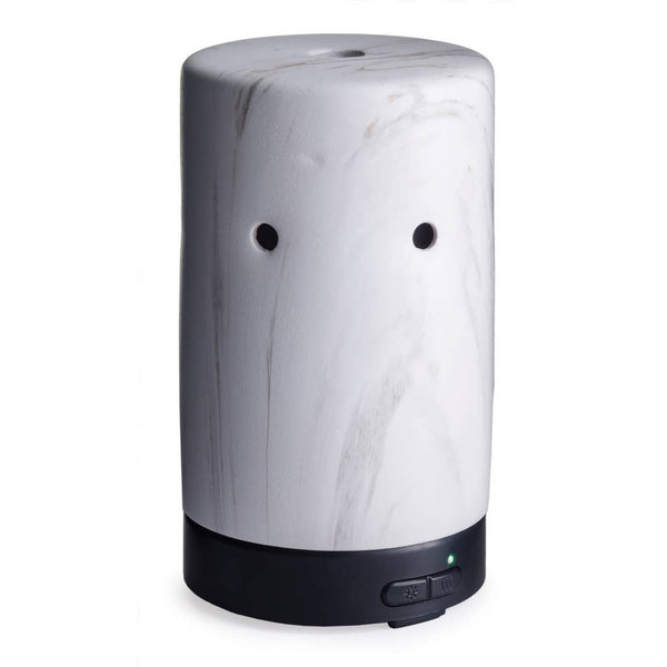 White Marble Ultrasonic Essential Oil Diffuser