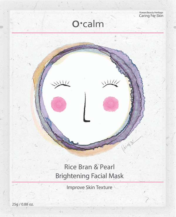 O•Calm Rice Bran & Pearl Face Mask