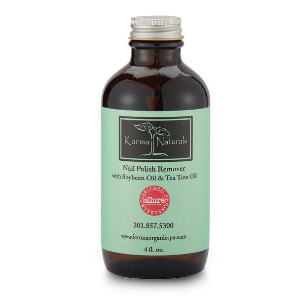 Karma Naturals Tea Tree Nail Polish Remover