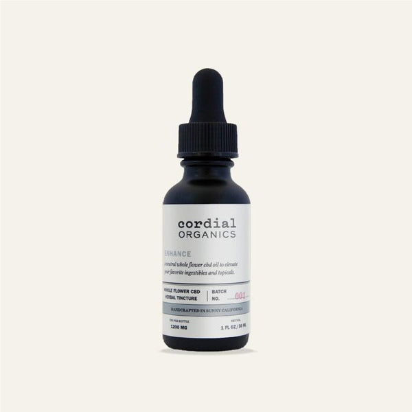 Cordial Organics CBD Enhance Oil