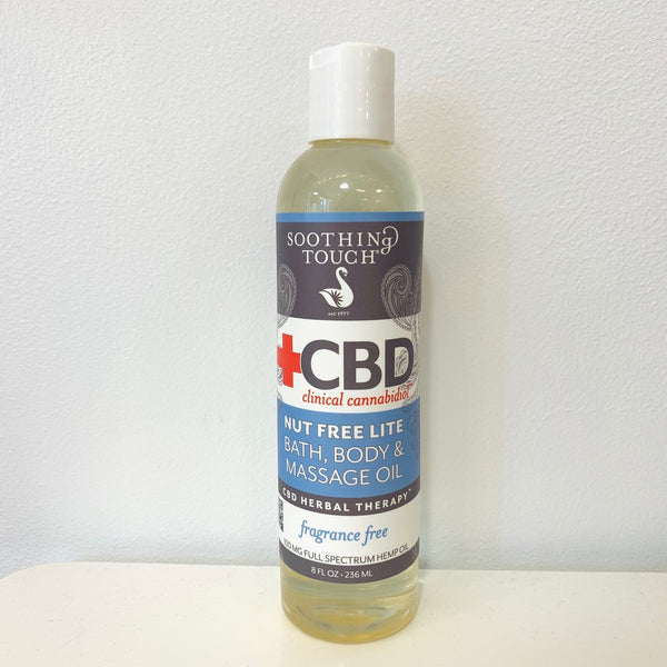 Soothing Touch CBD Massage Oil - Unscented