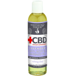 Soothing Touch CBD Massage Oil - Lavender