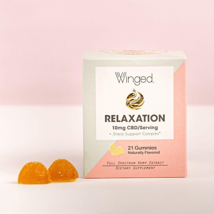 Winged Relaxation CBD gummies