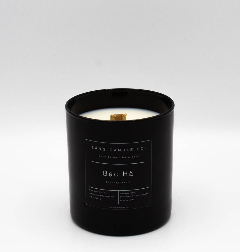 Garden Mint Woodwick Candle