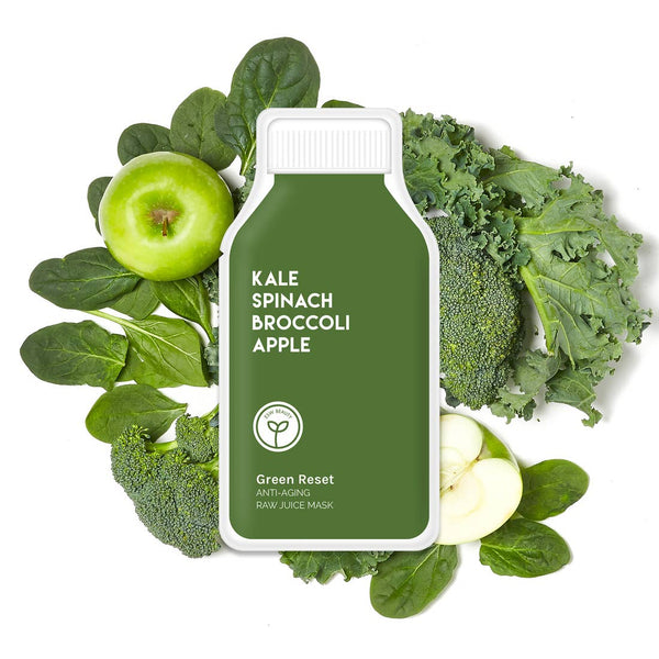 Green Reset Anti-Aging Raw Juice Face Mask