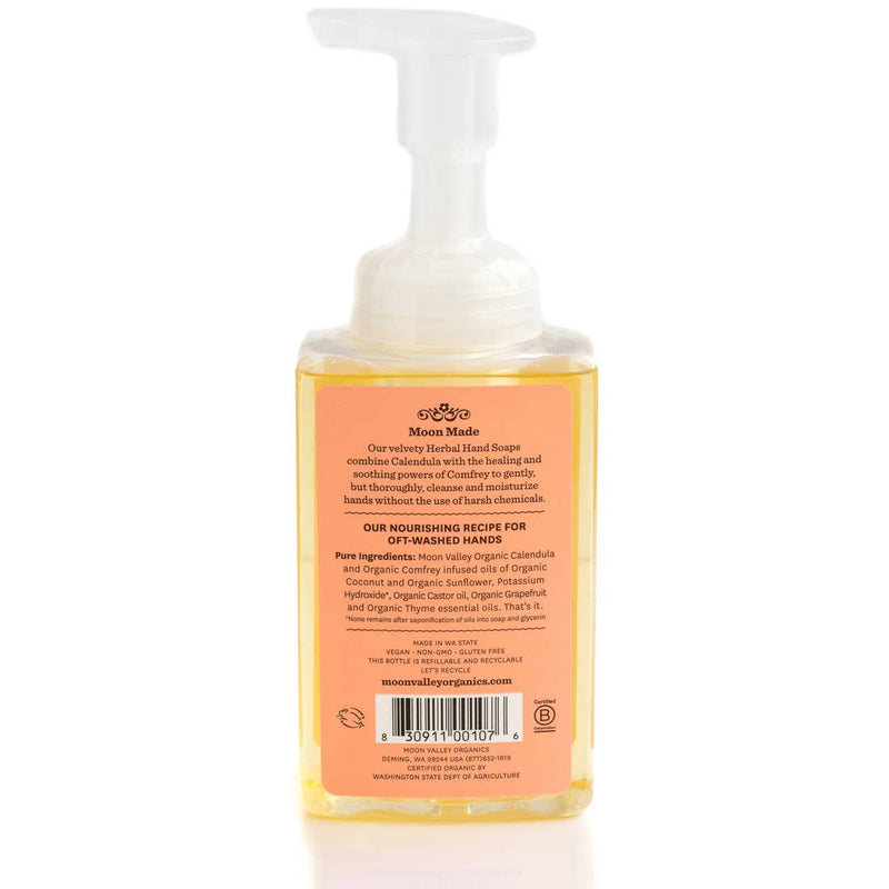Grapefruit Thyme Foaming Herbal Hand Soap