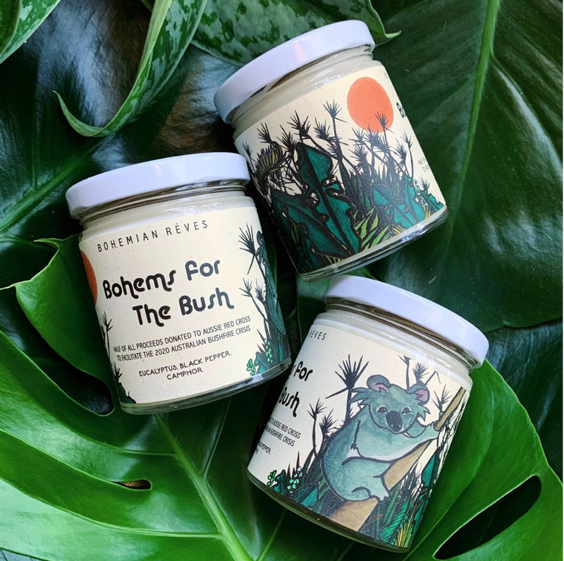 Bohemian Rêves Bohems For The Bush Candle