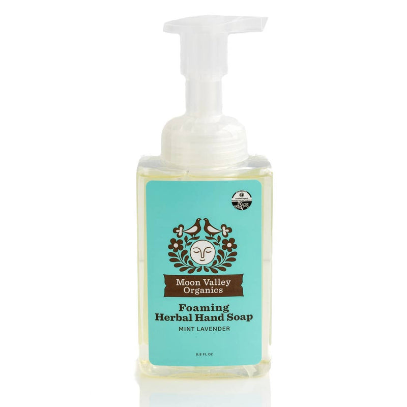 Mint Lavender Foaming Herbal Hand Soap