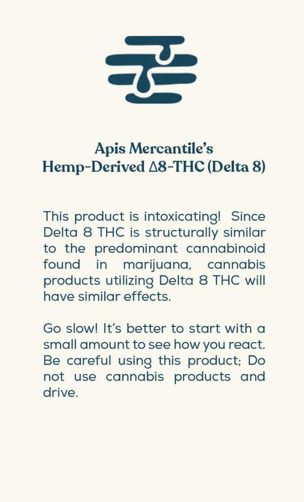 Apis Mercantile Delta 8 Tincture