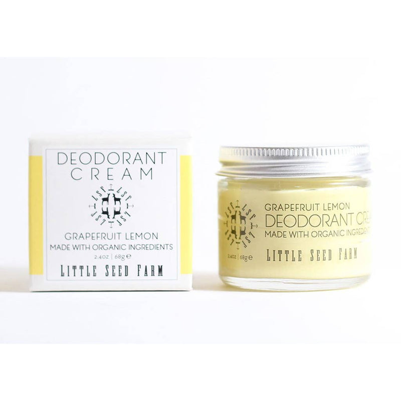 Little Seed Farm Grapefruit Lemon Deodorant Cream