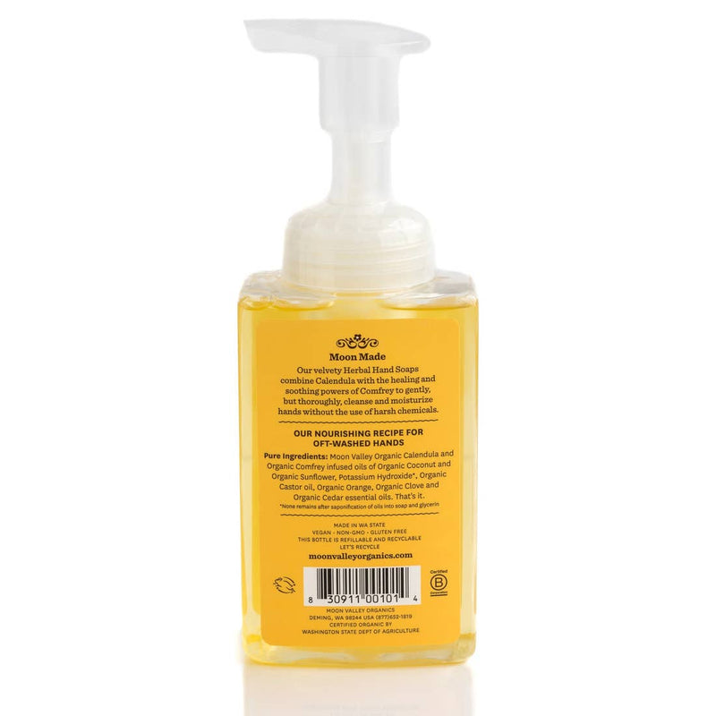 Orange Spice Foaming Herbal Hand Soap