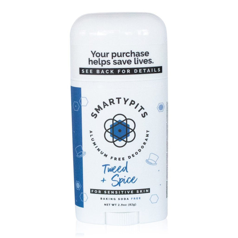 Smarty Pits Sensitive Deodorant Tweed + Spice