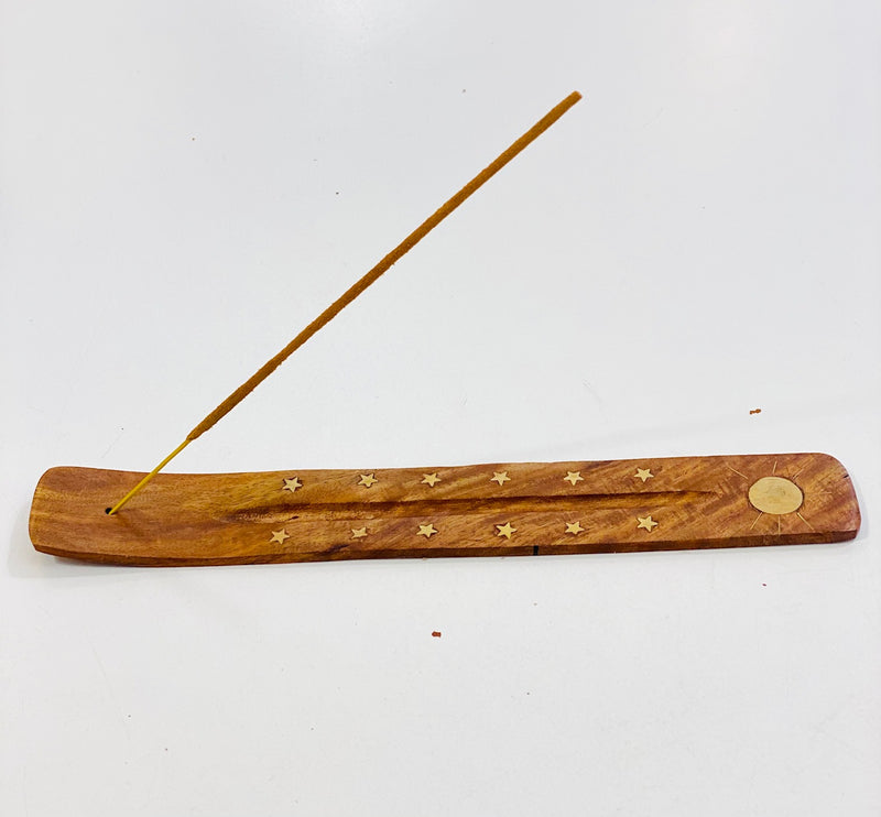 Windrose Sun and Stars Incense Holder