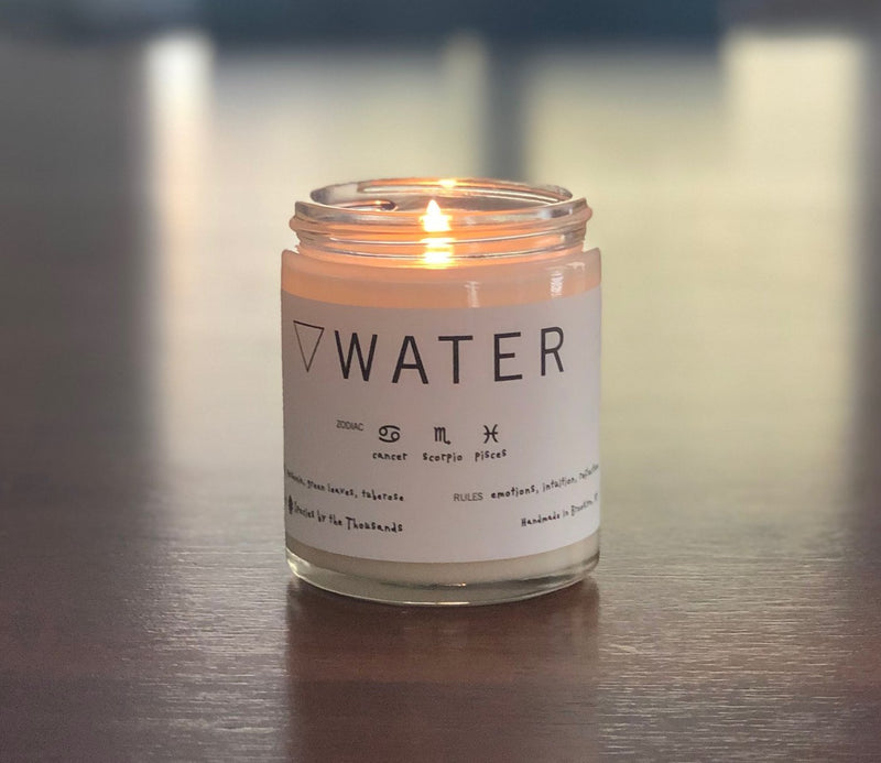 Species by the Thousands Water Candle