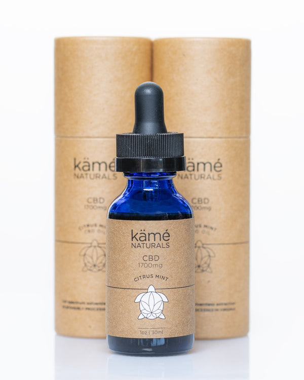 Kame Natural Citrus Mint 1700mg CBD Oil