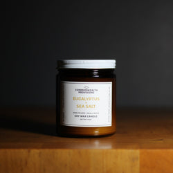 Commonwealth Provisions Soy Candle - Eucalyptus + Sea Salt