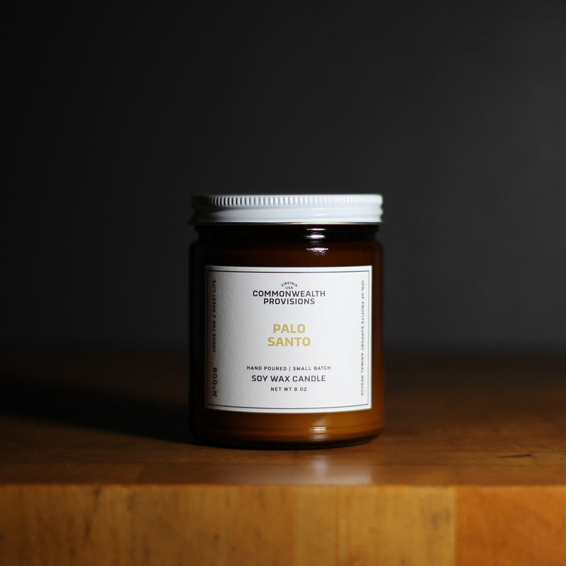 Commonwealth Provisions Soy Candle - Palo Santo