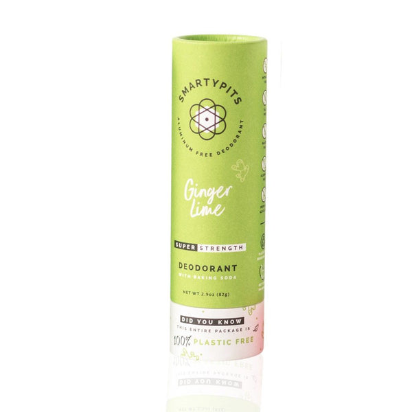 Smarty Pits Sustainable Deodorant Ginger Lime