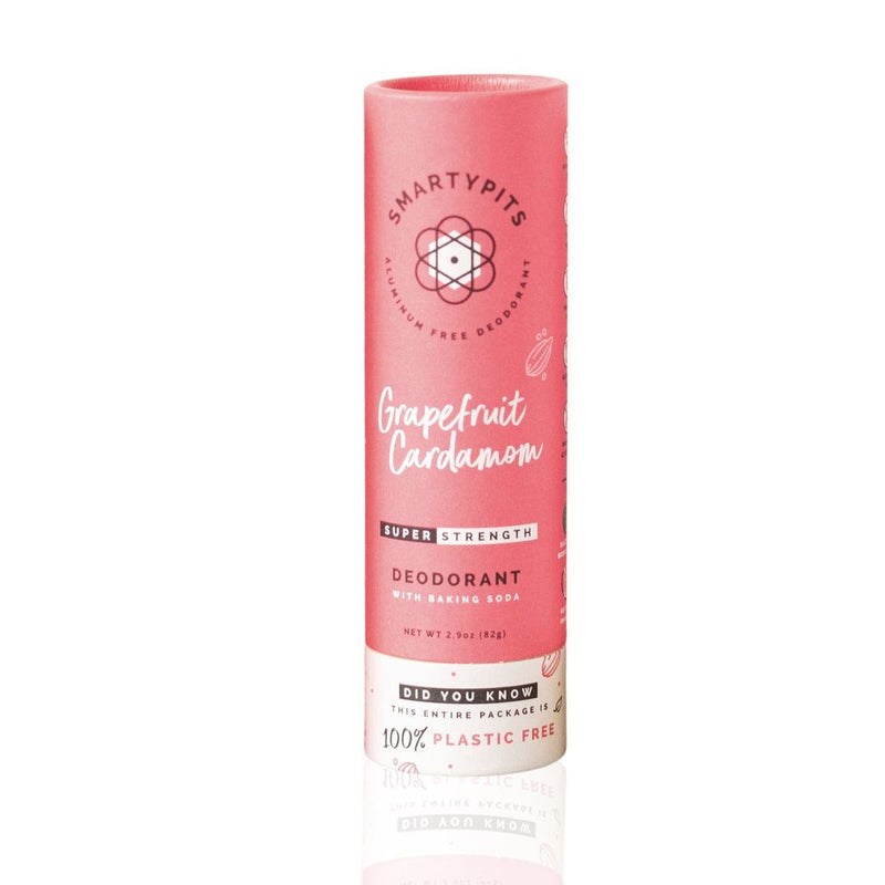 Smart Pits Sustainable Deodorant Grapefruit Cardamom