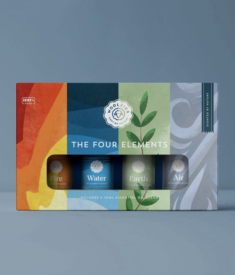 "Woolzies ""The Four Elements"" Oil Set"