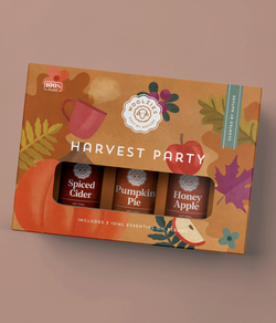 "Woolzies ""Harvest Party"" Oil Set"