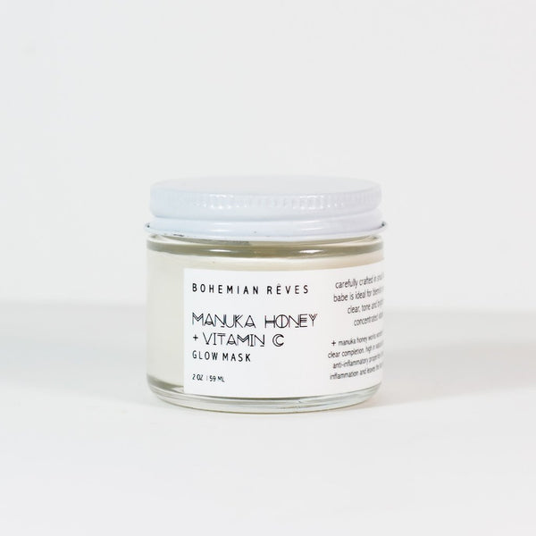 Bohemian Rêves Manuka Honey + Vit C Glow Mask