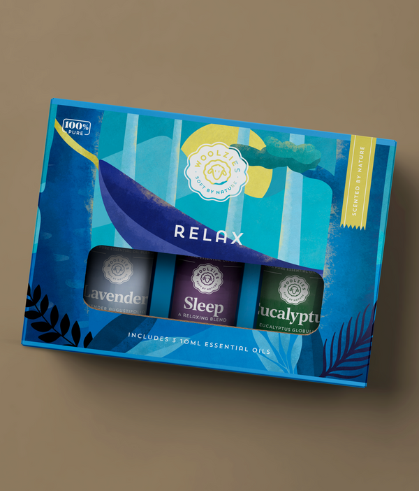 "Woolzies ""Relax"" Oil Set"