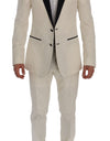White MARTINI Slim Fit Suit