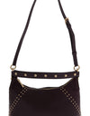 Bordeaux ARIA Leather Shoulder Bag