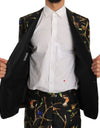 Black Bird Silk SICILIA Slim Fit Blazer Suit