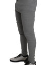 Light Gray Cotton Stretch Thermal Bottoms