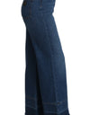 Jeans Pants Denim Blue Bell Flare  Pant
