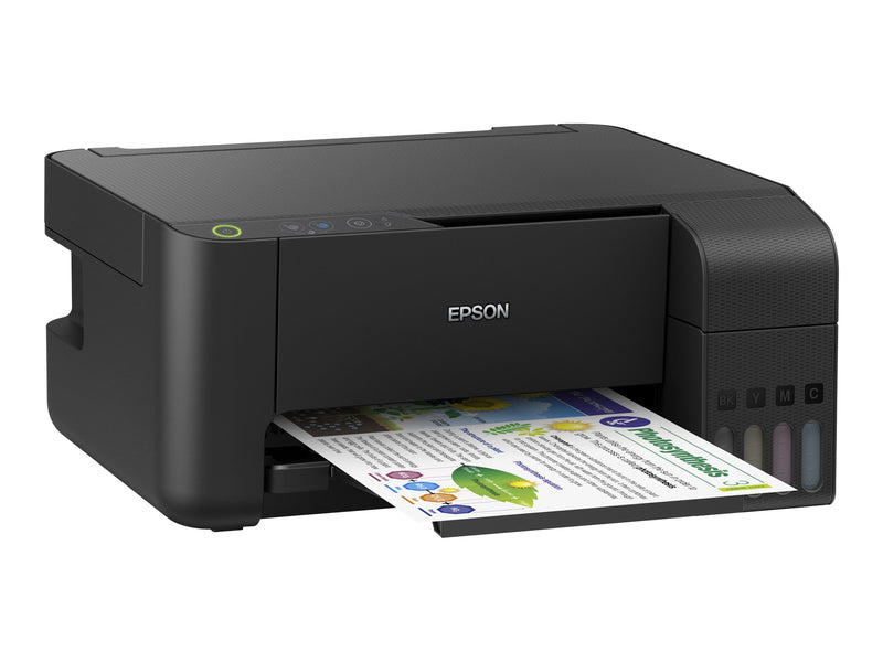 Epson L3110 - Photo printer - Printer / Copier / Scanner - Ink-jet - Color - USB - 216 x 297 mm