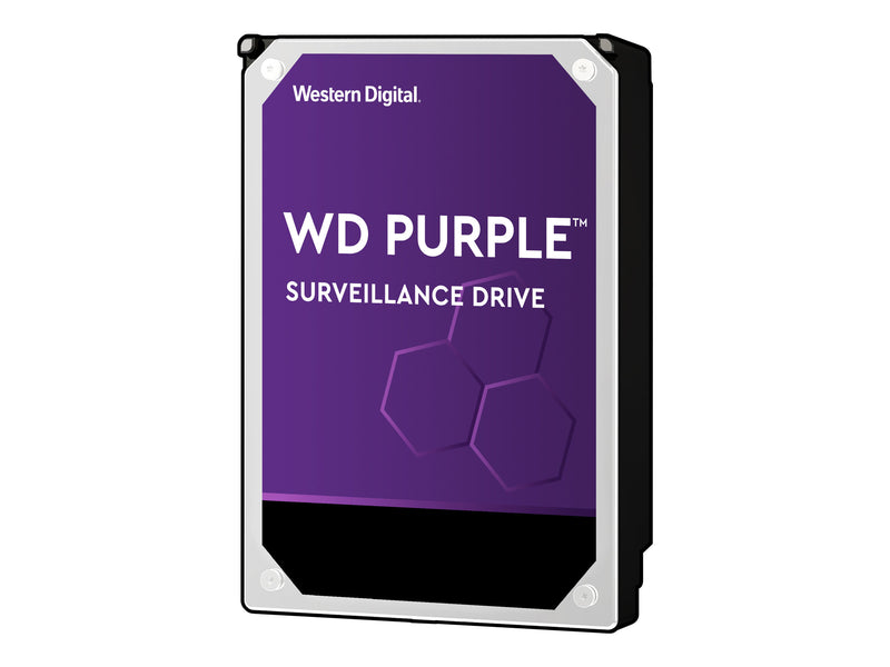 "WD Purple Surveillance Hard Drive WD40PURZ - Disco duro - 4 TB - interno - 3.5"" - SATA 6Gb/s - 5400 rpm - búfer: 64 MB"