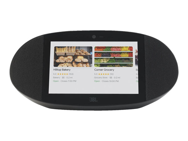 "JBL LINK VIEW - Pantalla inteligente - LCD - 8"" - inal‡mbrico - Bluetooth, Wi-Fi - 20 vatios - negro"