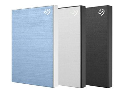 Seagate Backup Plus Slim - External hard drive - 2 TB - USB 3.0 - Blue