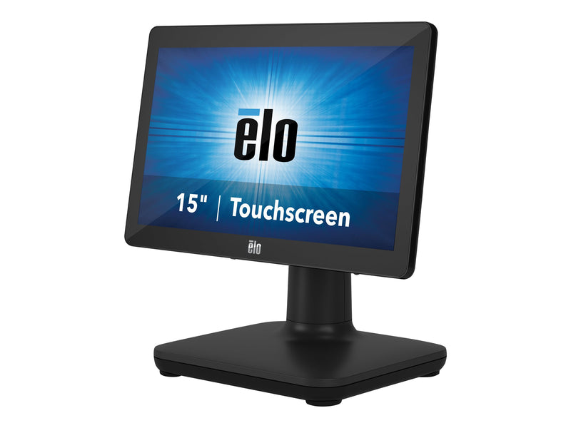 "EloPOS System i3 - Todo en uno - 1 x Core i3 8100T / 3.1 GHz - RAM 4 GB - SSD 128 GB - UHD Graphics 630 - GigE, Bluetooth 5.0 - WLAN: 802.11a/b/g/n/ac, Bluetooth 5.0 - Win 10 IoT Enterprise LTSB 64-bit - monitor: LED 15.6"" 1366 x 768 (HD) pantalla t‡ctil"